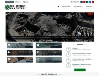 fef.kocaeli.edu.tr screenshot