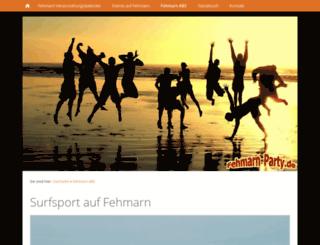 fehmarn-surfen.de screenshot