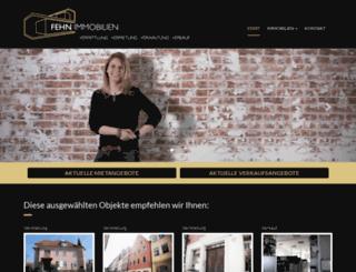 fehn-immobilien.de screenshot