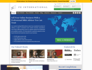 feinternational.com screenshot