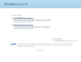 feiralider.com.br screenshot