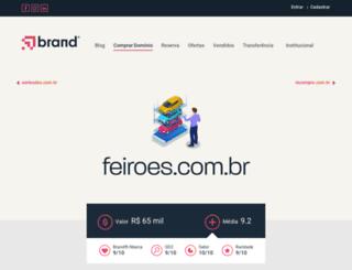 feiroes.com.br screenshot
