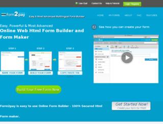 fekravar.form2go.com screenshot