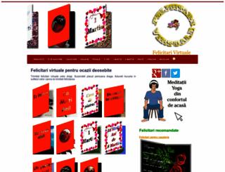 felicitari-virtuale.ro screenshot
