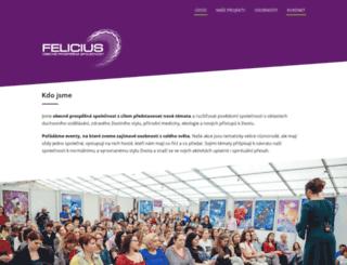 feliciusmedia.cz screenshot