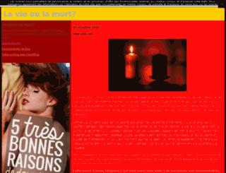 feline8.canalblog.com screenshot