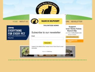 felineranch.org screenshot