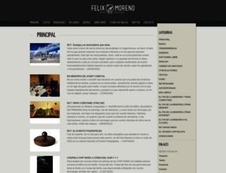 felixmoreno.com screenshot