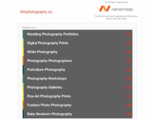 felixphotography.co screenshot