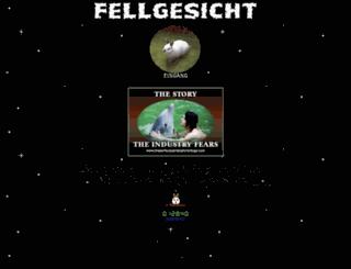 fellgesicht.de screenshot