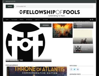 fellowshipoffools.com screenshot