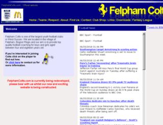 felphamcolts.com screenshot