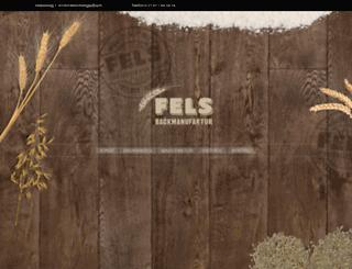 fels-backmanufaktur.de screenshot