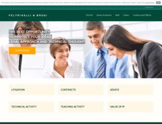 feltrinelli-brogi.com screenshot