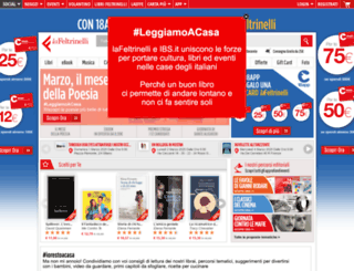 feltrinelli.it screenshot