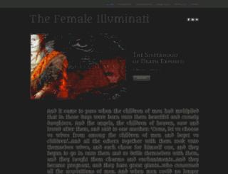 femaleilluminati.com screenshot