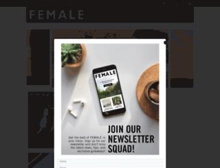 femalemag.com.my screenshot