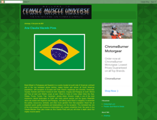 femalemuscleuniverse.blogspot.com screenshot