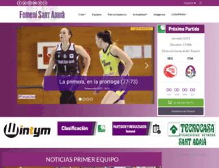 femenisantadria.com screenshot