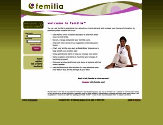 femilia.com screenshot