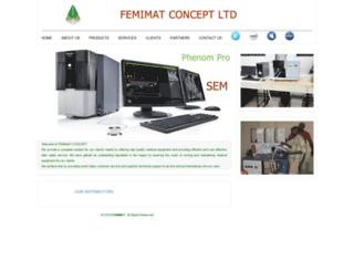 femimat.net screenshot