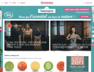 femininbio.fr screenshot