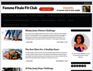 femmefitalefitclub.com screenshot