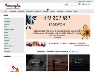 femmishu.pl screenshot