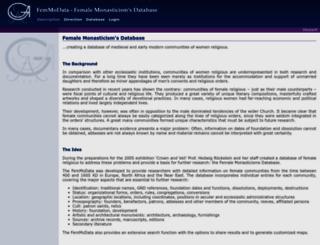 femmodata.uni-goettingen.de screenshot
