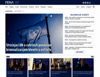 fena.ba screenshot