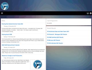 fencingnorth.com screenshot