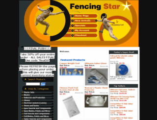 fencingstar.com screenshot