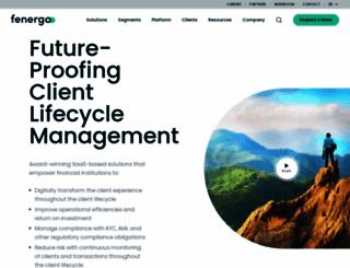 fenergo.com screenshot