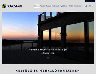 fenestra.fi screenshot