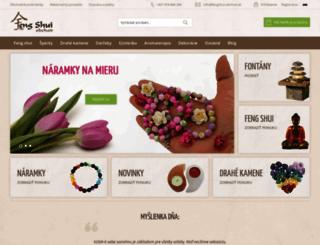 fengshui-obchod.sk screenshot