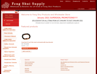 fengshui-supply.com screenshot