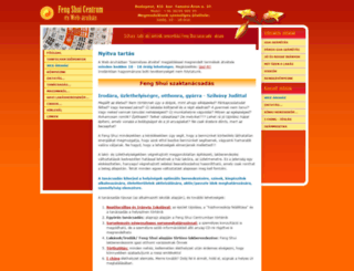 fengshui.hu screenshot
