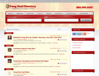 fengshuidirectory.com screenshot