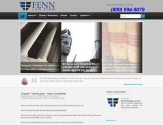 fennlawfirm.com screenshot