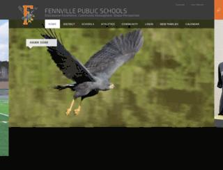 fennville.schoolwires.net screenshot