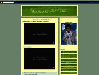 fenomenalmessi.blogspot.com screenshot