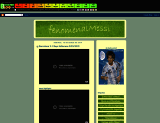 fenomenalmessi.boosterblog.com screenshot