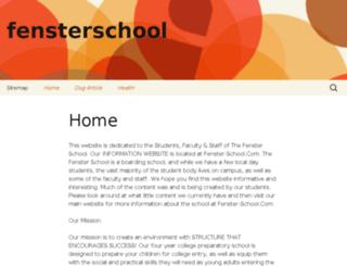 fensterschool.org screenshot