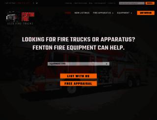 fentonfire.com screenshot