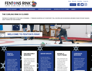 fentonsrink.co.uk screenshot
