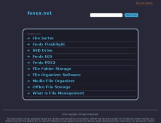 fenux.net screenshot