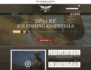 fenwickfishing.com screenshot