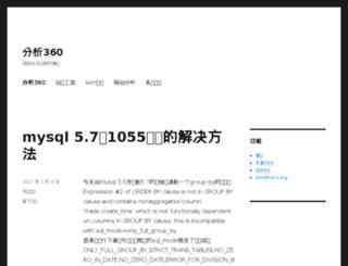 fenxi360.com screenshot