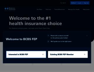 fepblue.org screenshot