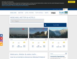 feratel-piesendorf.concentrator.net screenshot